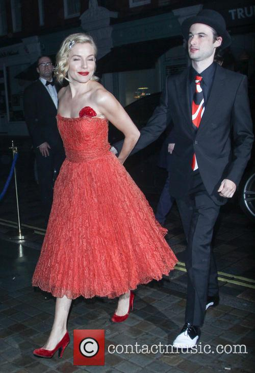 Sienna Miller and Tom Sturridge 1