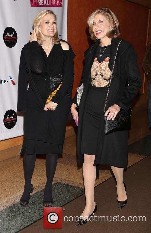 Diane Sawyer and Christine Baranski 2