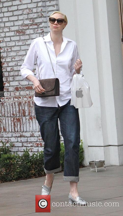 'Game of Thrones' actress Gwendoline Christie spotted shopping...