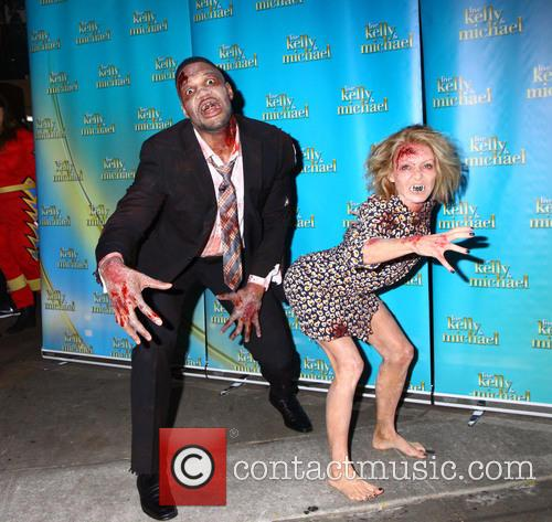 Kelly Ripa, Michael Strahan and Walking Dead 9