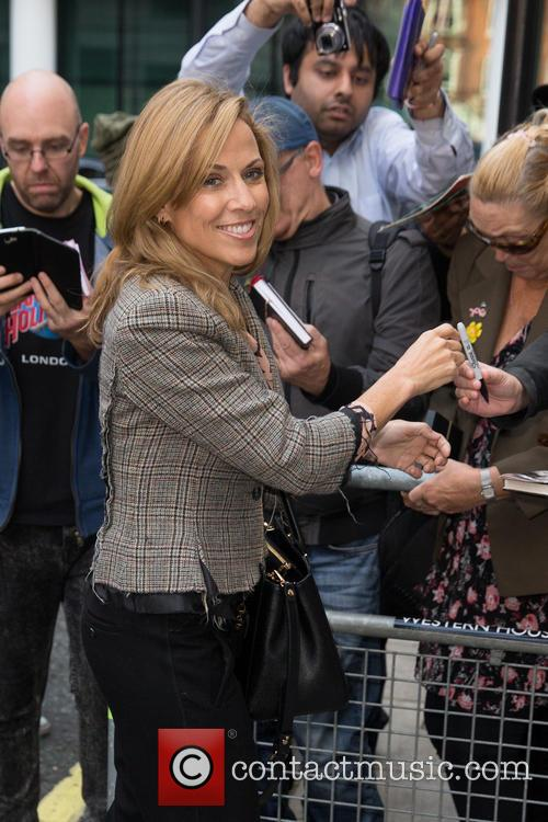 Celebrities at the BBC Radio 2 studios