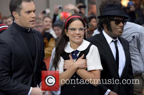 Natalie Morales and Al Roker 8