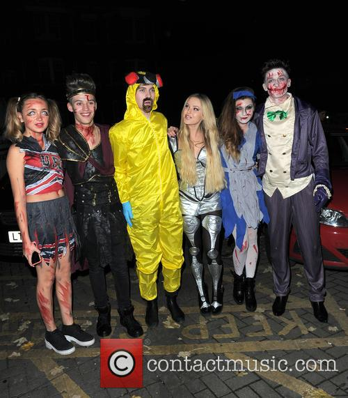 Lauren Platt, Mikey Bromley, Parisa Tarjomani, Betsy-blue English, Charlie George, Only The Young and Jack Walton 2