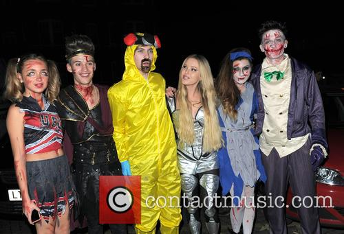 Lauren Platt, Mikey Bromley, Parisa Tarjomani, Betsy-blue English, Charlie George, Only The Young and Jack Walton 3