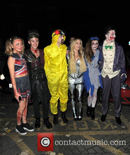 Lauren Platt, Mikey Bromley, Parisa Tarjomani, Betsy-blue English, Charlie George, Only The Young and Jack Walton 4