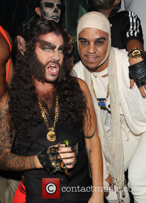 Adam Lambert and Jovan Carrington 7