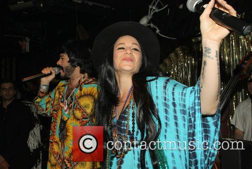Ferras, Sarah Hudson and Adam Lambert 4