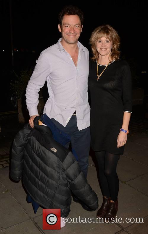 Dominic West and Wife Catherine Fitzgerald 3