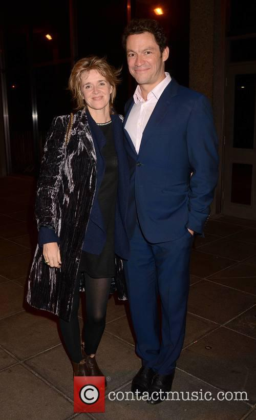 Dominic West and Wife Catherine Fitzgerald 5