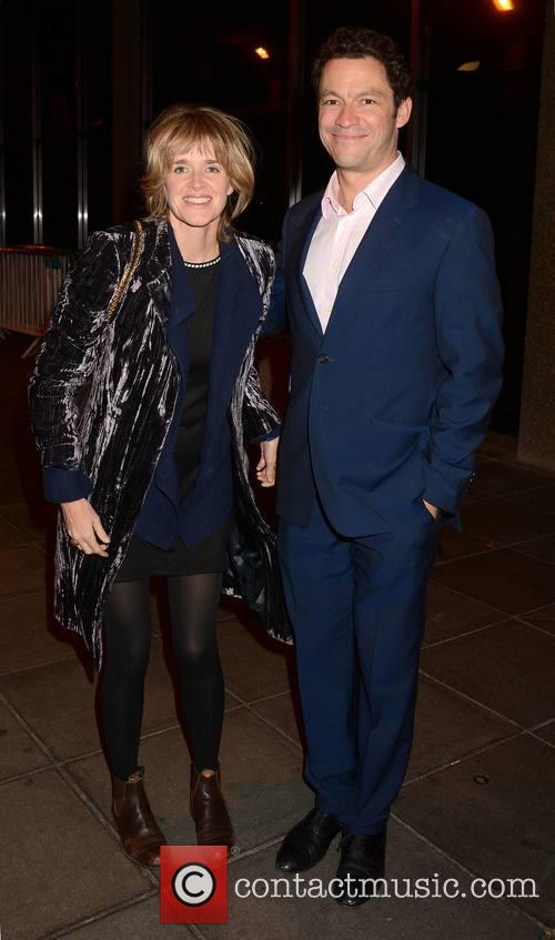Dominic West and Wife Catherine Fitzgerald 1
