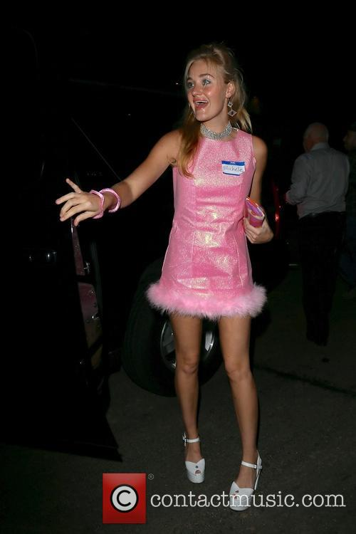 Celebrities at Kate Hudson's Halloween party
