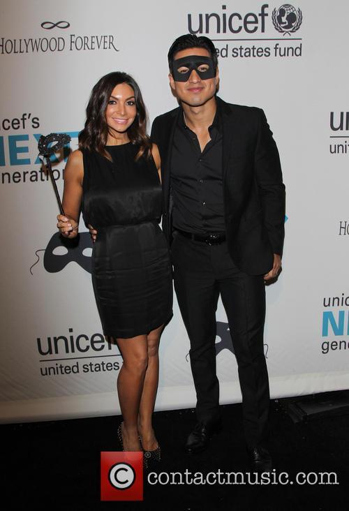 Courtney Laine Mazza and Mario López 2