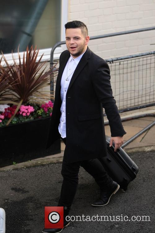 X Factor finalists arrive at Wembley recording studio
