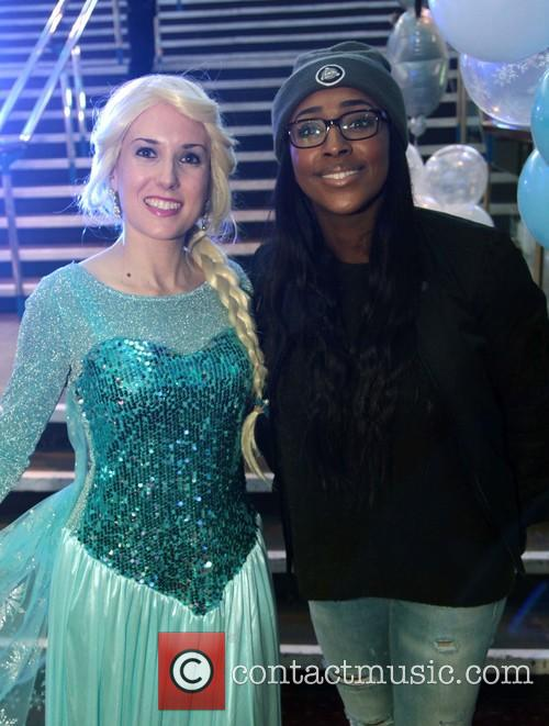 Alexandra Burke and Jodie Johnson 3