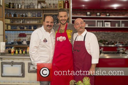 Johann Lafer, Florian Schroeder and Horst Lichter 2