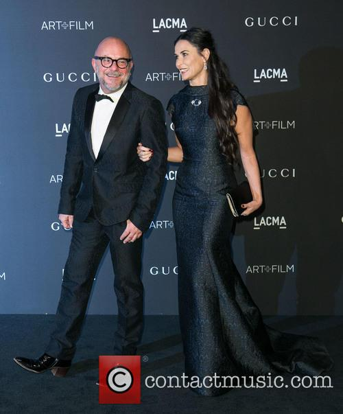 Eric Buterbaugh and Demi Moore 2