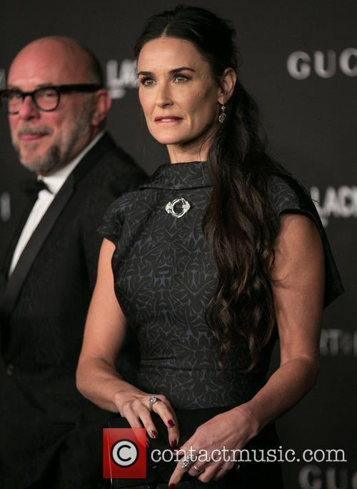 Eric Buterbaugh and Demi Moore 4