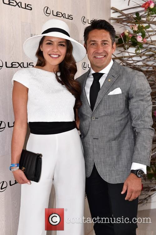 Olympia Valance and Jamie Durie 1