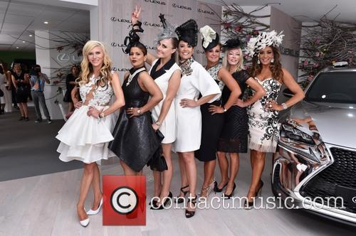 Real Housewives, Chyka Keebaugh, Janet Roach, Gina Liano, Gamble Breaux and Pettifleur Berenger 1