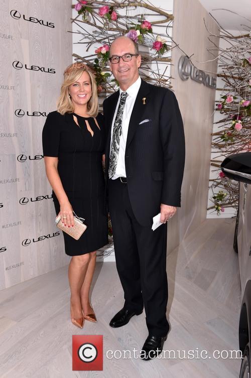 Samantha Armytage and David Koch 1