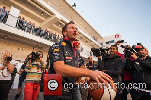 Daniel Ricciardo and Christian Horner 2