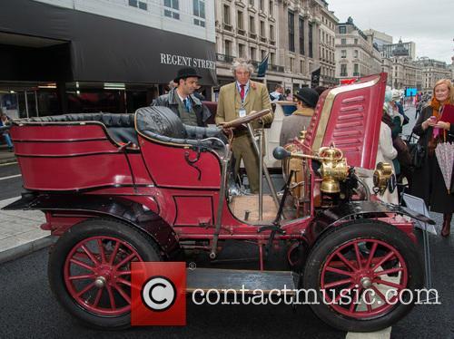 Edd China judges at the Regent Street Motor...