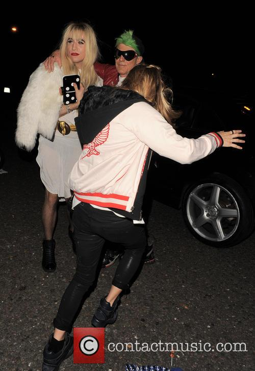 Kate Moss and Nick Grimshaw 5