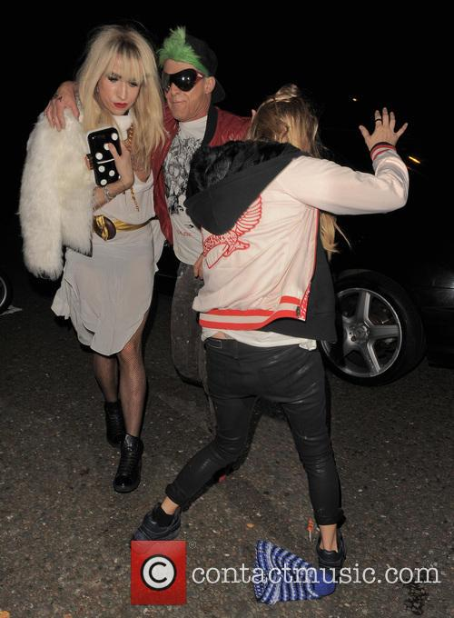 Kate Moss and Nick Grimshaw 7