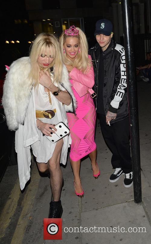 Rita Ora and Nick Grimshaw 2