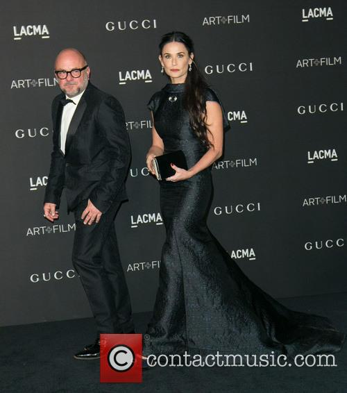 Guest and Demi Moore 2