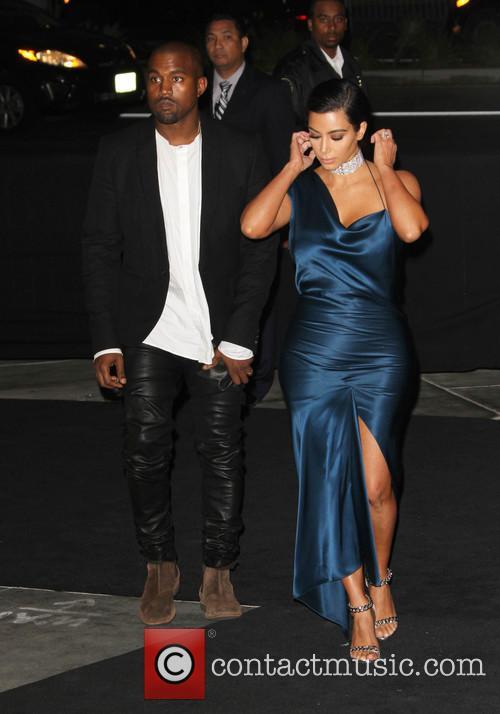 Kanye West and Kim Kardashian 7