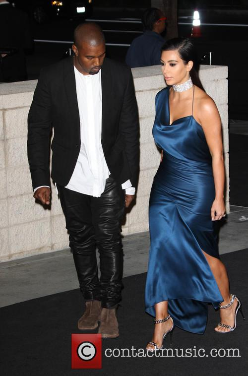 Kanye West and Kim Kardashian 9