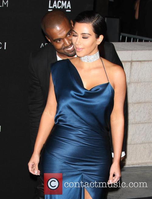 Kanye West and Kim Kardashian 11