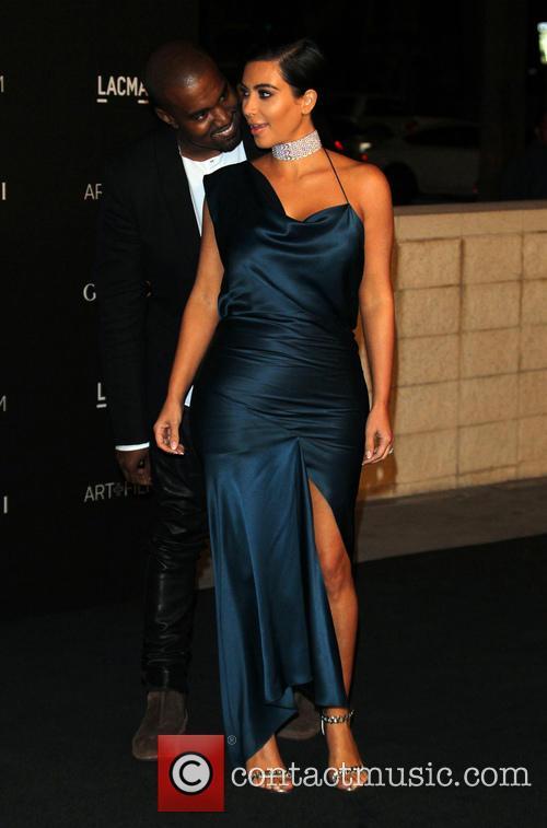 Kanye West and Kim Kardashian West 2