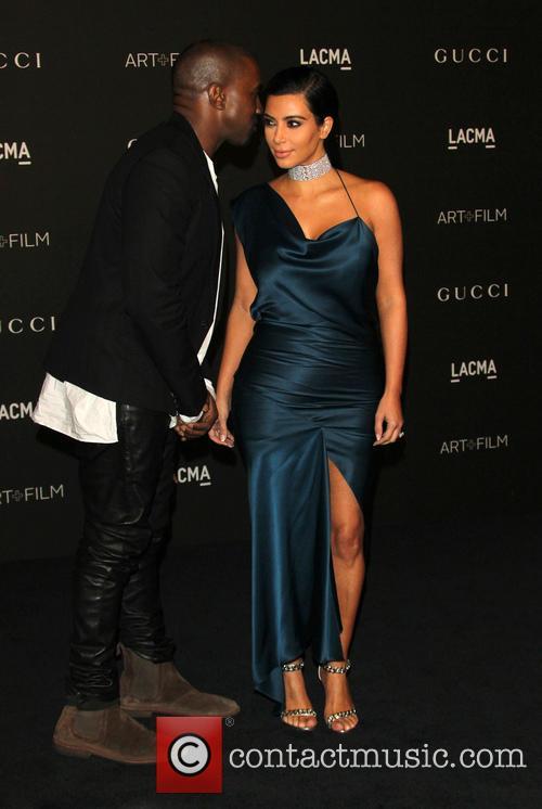 Kanye West and Kim Kardashian West 3