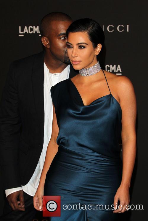 Kim Kardashian and Kanye West 10