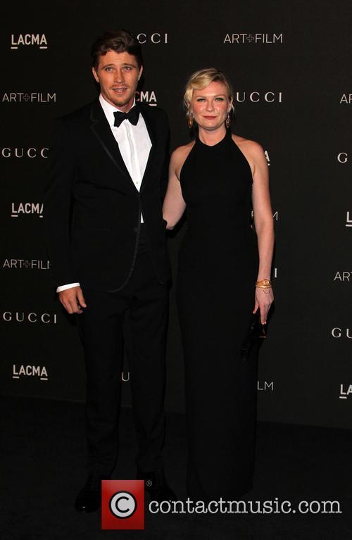 Kirsten Dunst and Garrett Hedlund 1