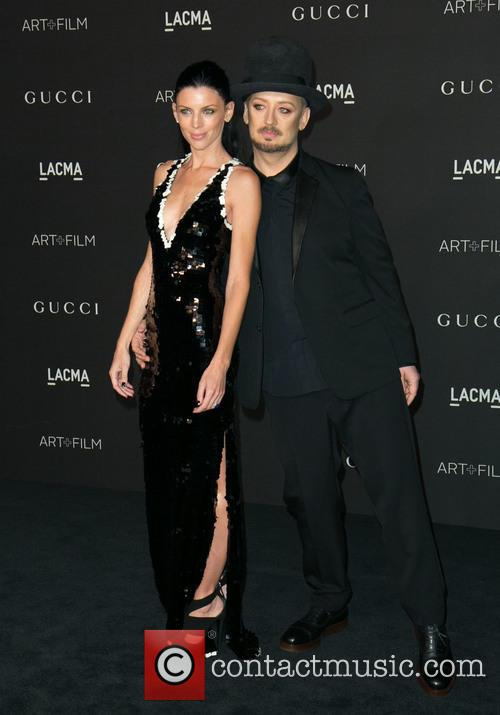 Liberty Ross and Boy George 8