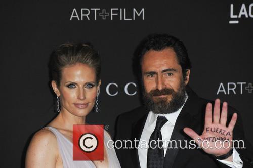 Quentin Tarantino, Stefanie Sherk and Damian Bichir 5