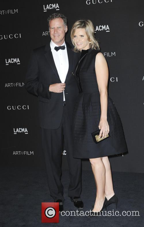 Will Ferrell and Viveca Paulin 1