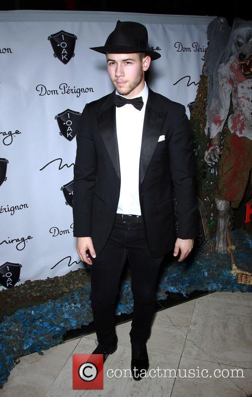 Nick Jonas Hosts at 1 Oak Nightclub
