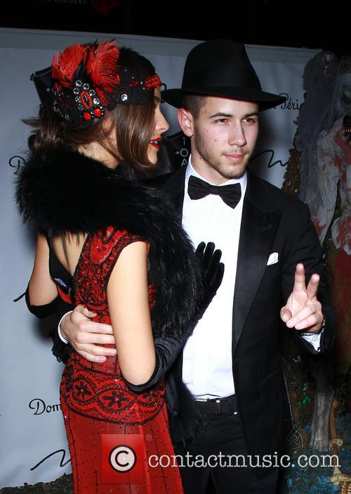 Olivia Culpo and Nick Jonas 5