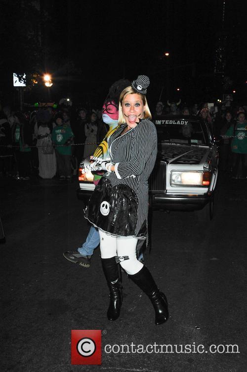 Scene from the 2014 Halloween Parade in New...
