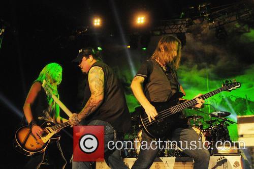 Black Stone Cherry, Ben Wells, Chris Robertson and Jon Lawhon 11
