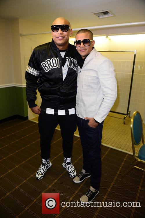 Alexander Delgado and Randy Malcom Of Gente De Zona 2