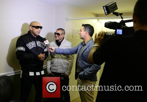 Alexander Delgado and Randy Malcom Of Gente De Zona 1