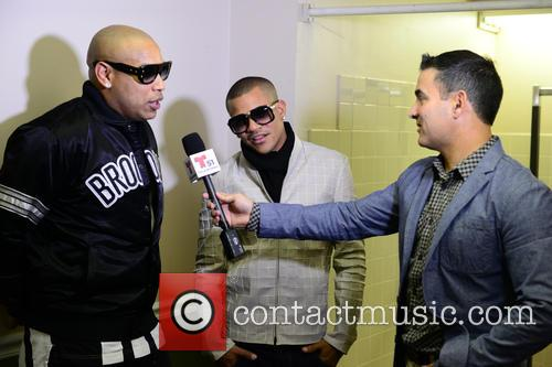 Alexander Delgado and Randy Malcom Of Gente De Zona 3