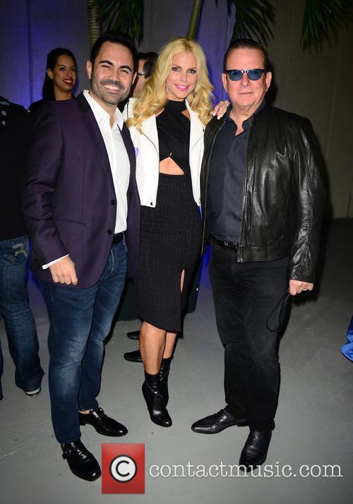 Enrique Santos, Alexia Echevarria and Herman Echevarria 3