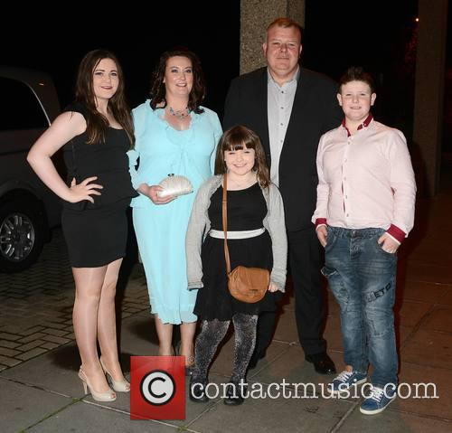 Michael Fitzmaurice, Wife Maria, Children Aisling and Nadine & Patrick 3