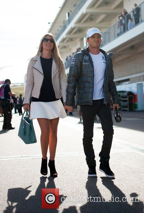 Vivian Rosberg and Nico Rosberg 2